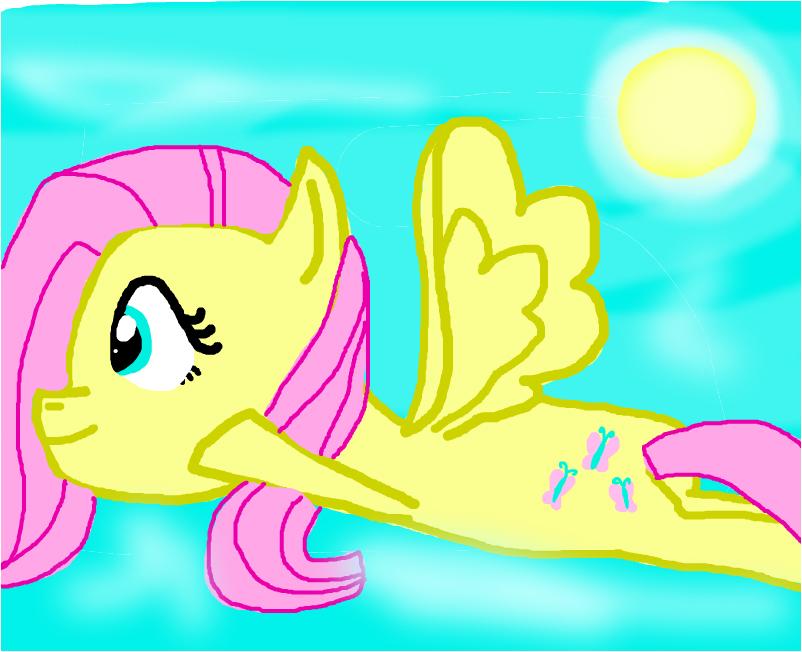 Fluttershie Fly