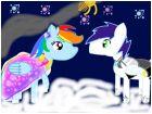 rainbow dash X soarin:getting marred