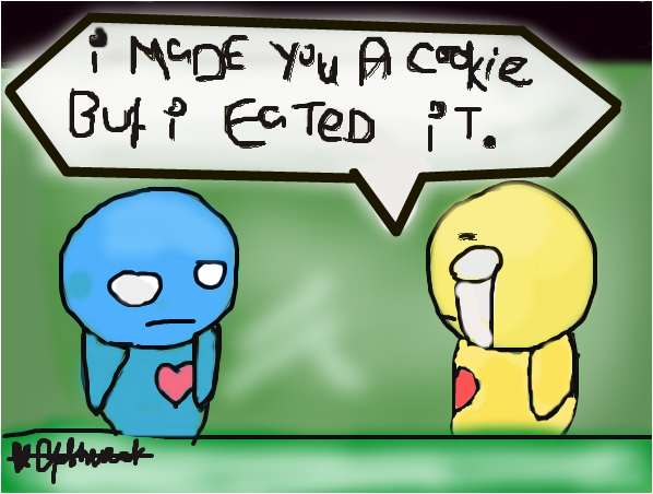 Pon and Zi I Made You a Cookie But I Eated It