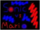 sonic vs mario...