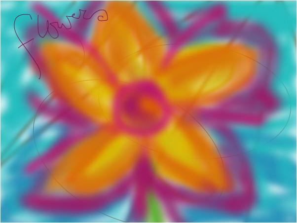 flower. yo.