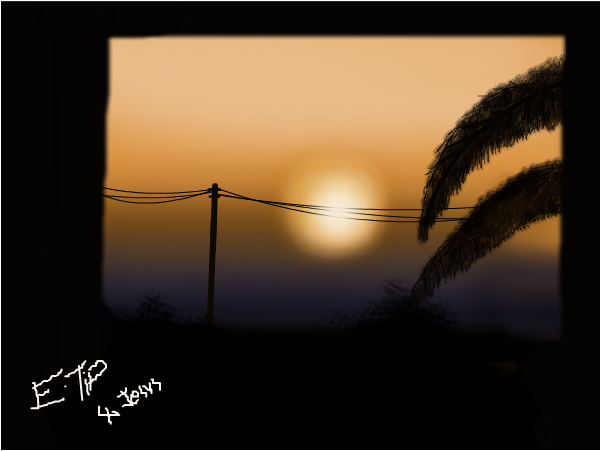 A sunset pic..