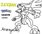 pokemon zekrom sketch