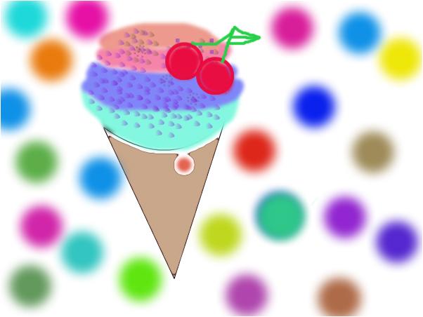 ice cream 3d