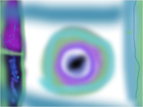 a hole to infinite
