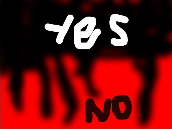 fake blood yes/no lyrics