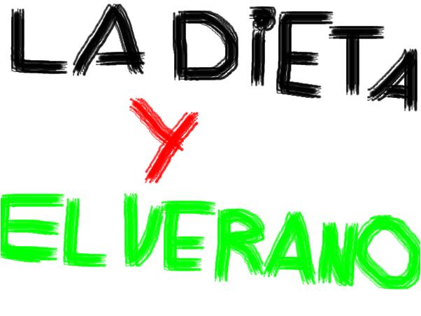 La dieta y el verano