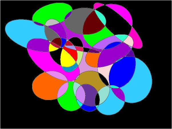 my rainbow beautiful circles