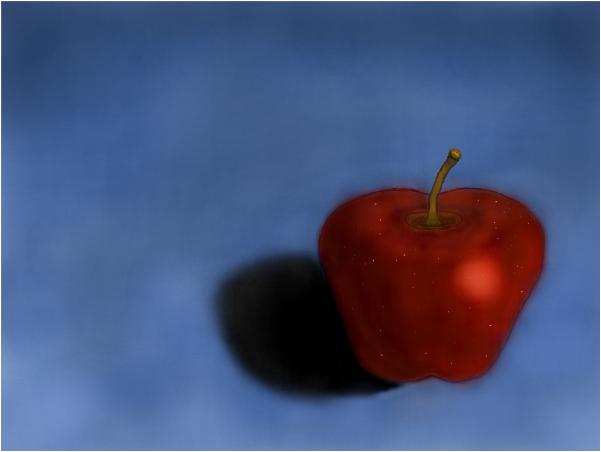 An Apple ...