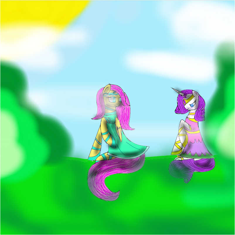rarity and hip fluttershy