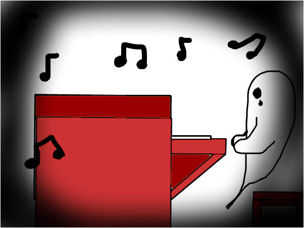 The ghost piano