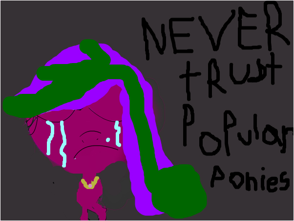 never trust poular ponies (a insident on phc)