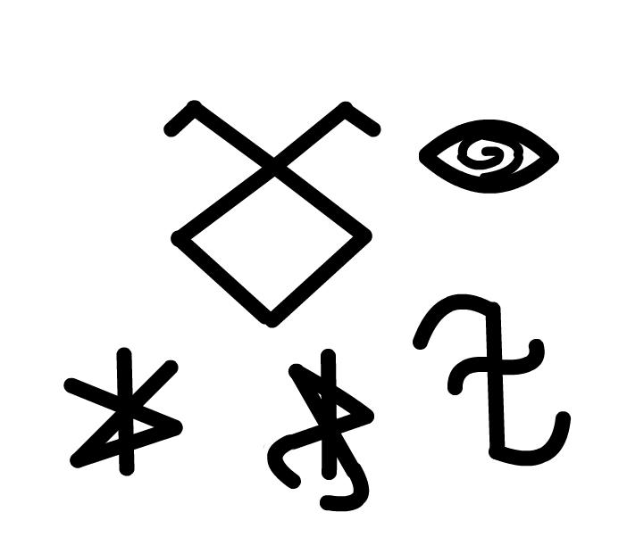 City of Bones Symbols
