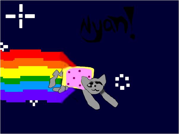 nyan cat (realistic)