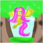 fluttershy in everfree forest