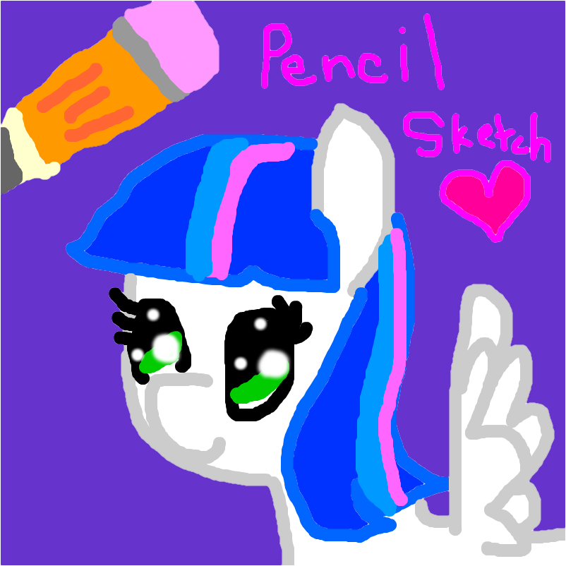 my oc pencil sketch