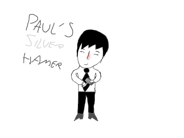The Beatles:Pauls silver hamer