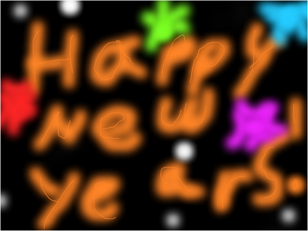 HAPPY very late NEW YEARS :D