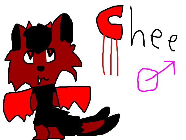 Chee ( chee chee in werewolf form )
