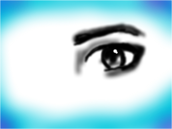 Doodle of an eye