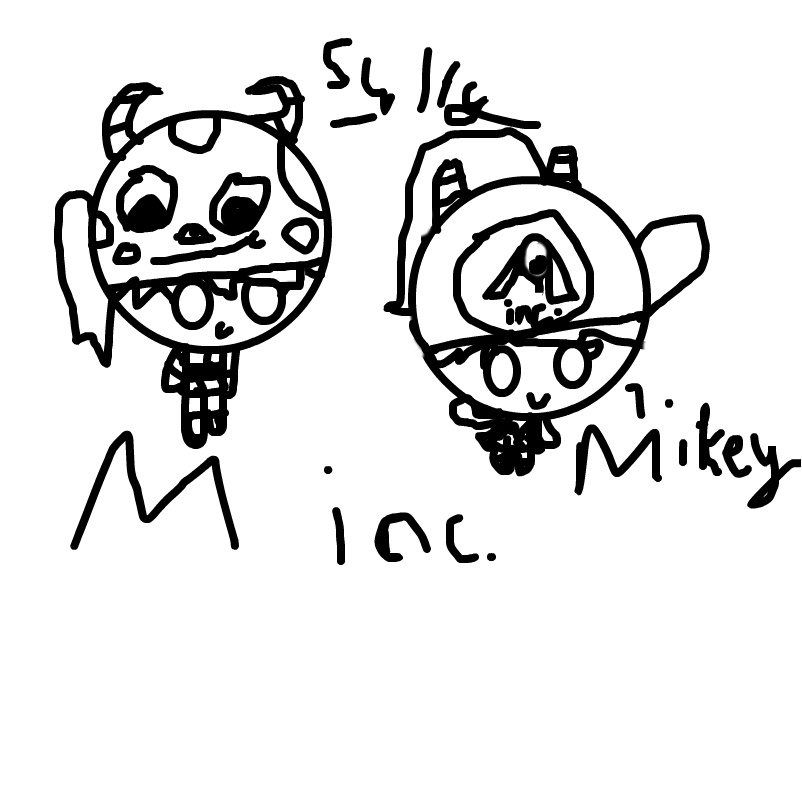 mikey @ sully(not colured)