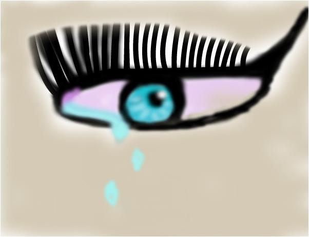 Печальный глаз