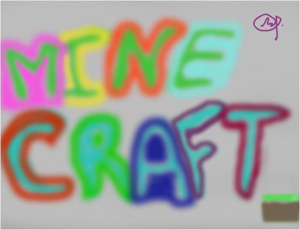 Граффити Minecraft