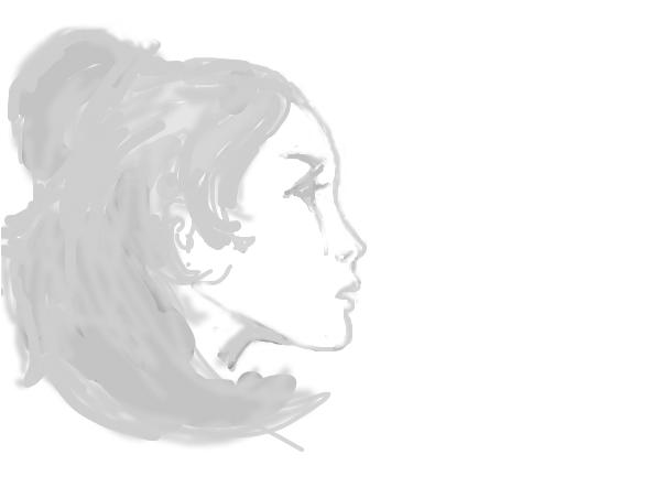 side of girl