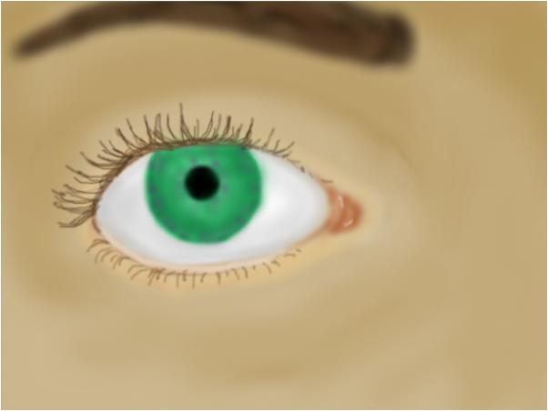Essie's eye