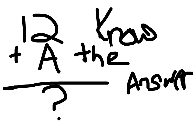 Know the math know the answer