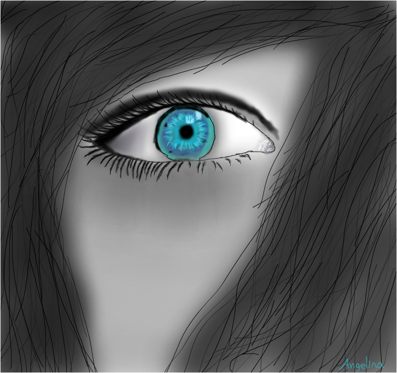 Hidden Blue Eye