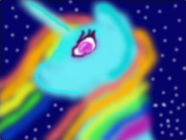 rainbow dash alicorn