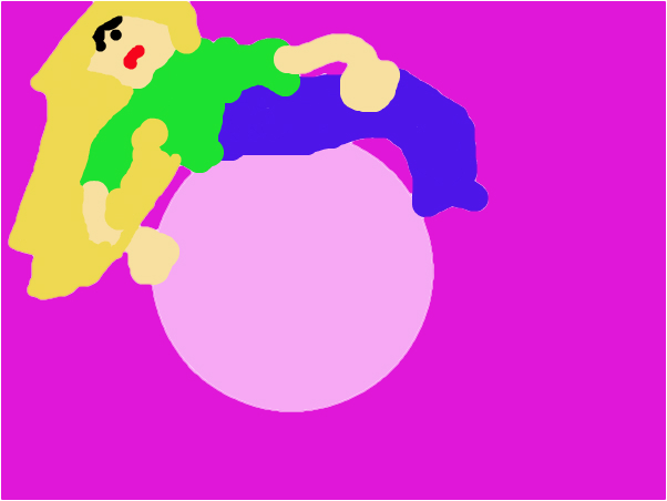 sad on a bubble