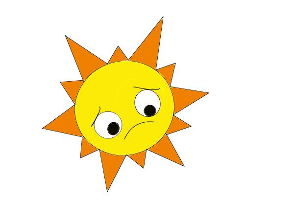 Sad Sun (Spanish Class Project)
