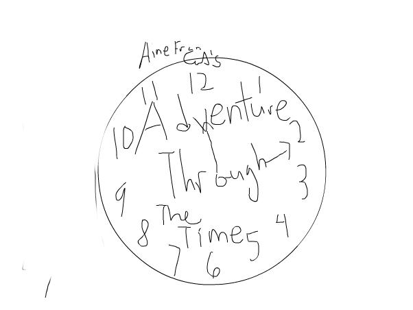 Adventure through the time