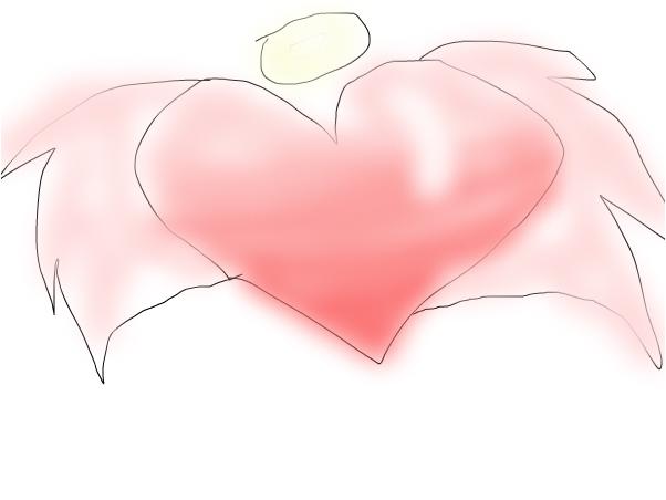 heart wit wings