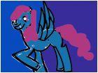 Blue wave night Mlp Oc