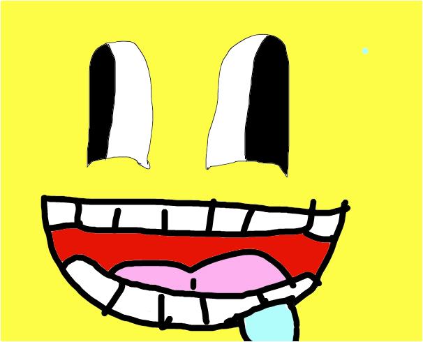 DERPY HAPPY FACE