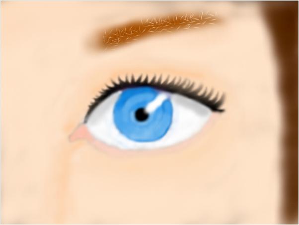 Eye girl