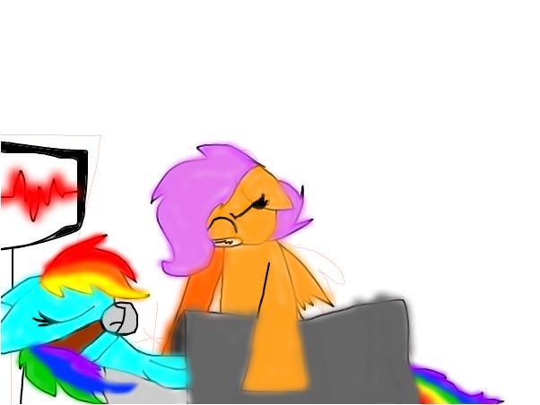 wake up rainbow dash