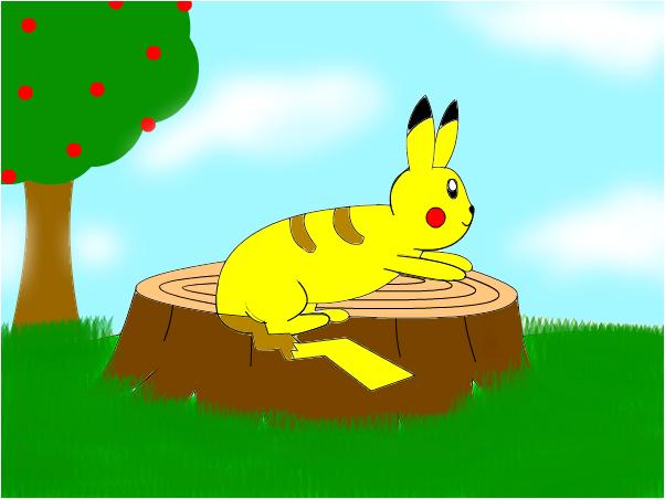 Wild Pikachu!