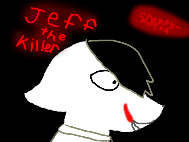 Jeff the killer [as a cat]