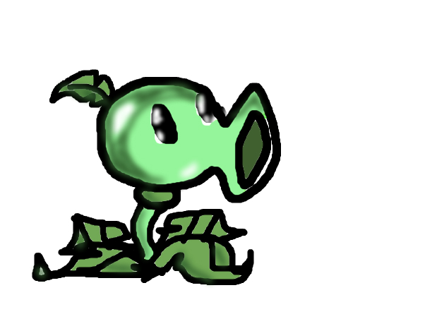 Plants vs. Zombies Remakes:Peashooter