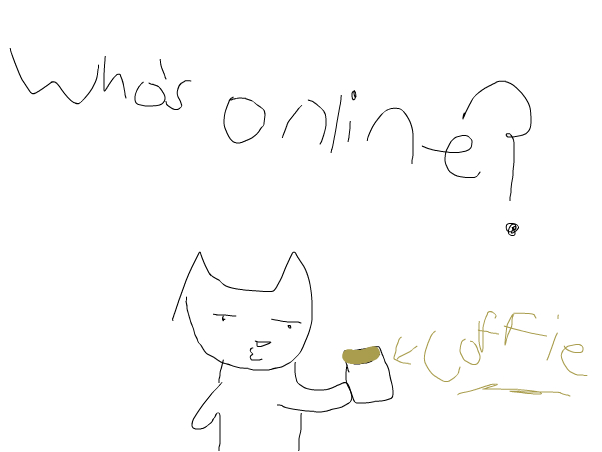 im bord any one online?