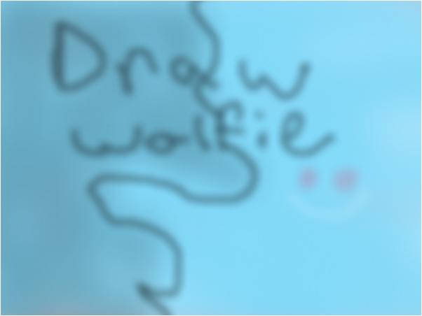 draw wolfie someone