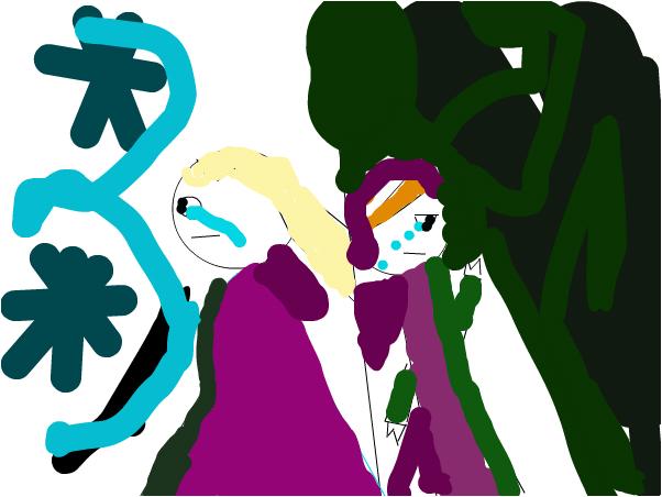 anne and elsa sad pic