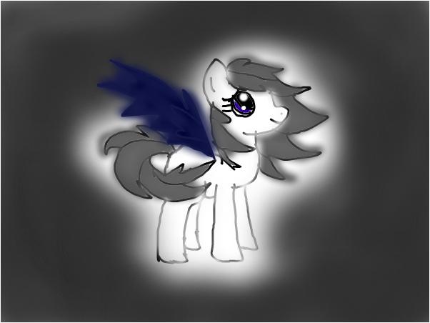 Darkbandit in pony form