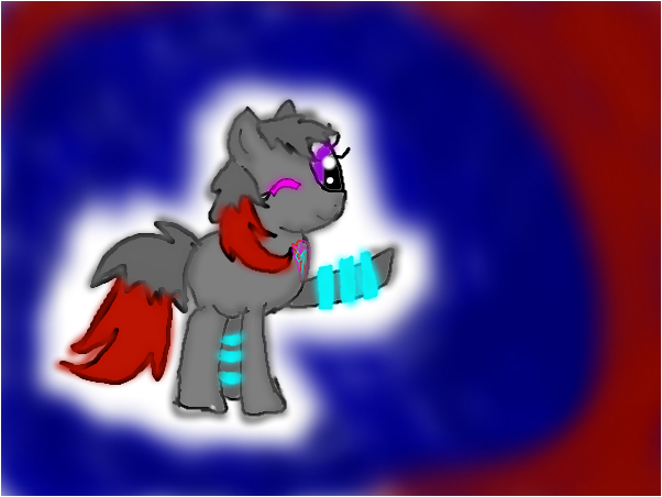 neonclaw in pony form