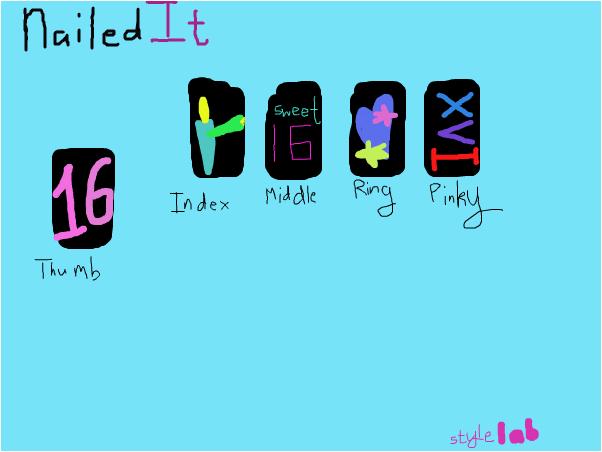 XVI (#NailedIt)