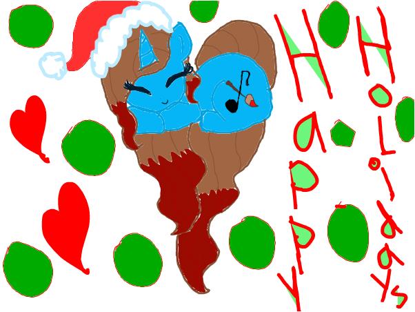 HAPPY HOLIDAYS EVERYPONY!!!!!!!:)